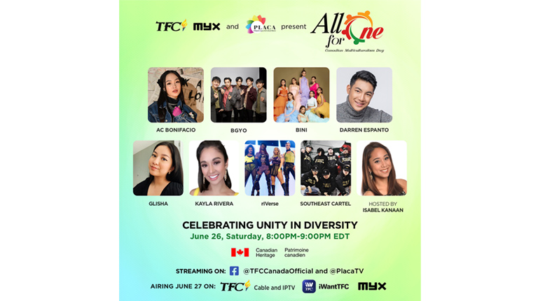 """The Fil-Canadian Community Celebrates Unity Amid Diversity in """"All for One"""" Canadian Multiculturalism Day"""