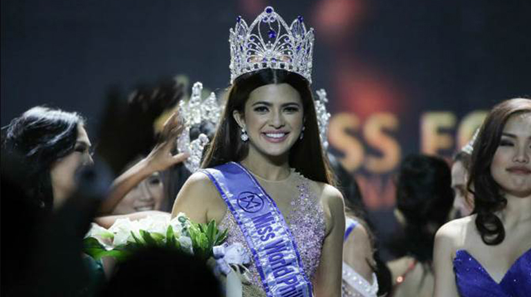 """ABS-CBN International's """"The People's Queen"""" reality show produces its first real beauty queen in Ms World Philippines Katarina Rodriguez"""