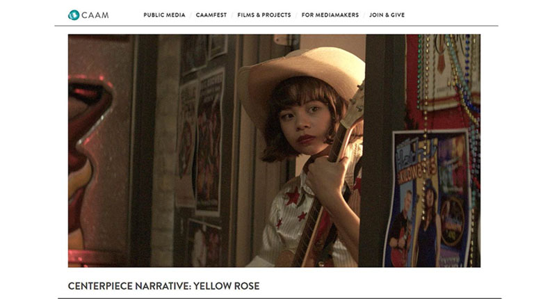 "Cinematografo Originals winner ""Yellow Rose""  selected as CAAMFest37 Centerpiece Narrative Film in San Francisco"