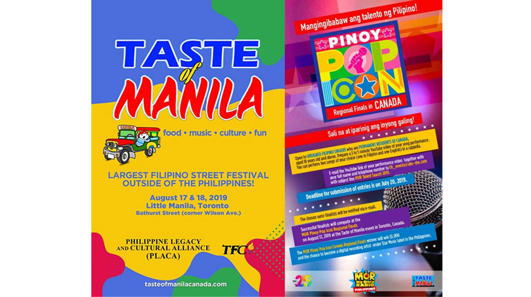 Taste of Manila lights up the summer festival season in Canada  with the best cultural flavors of the Philippines