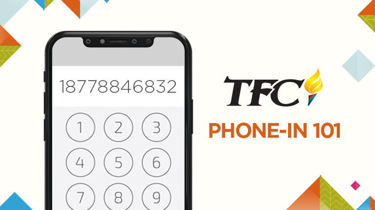 TFC Phone-in 101